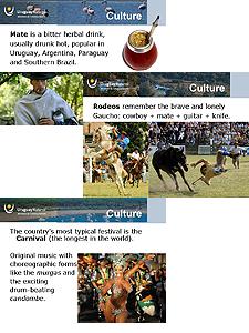 Presentación digital sobre Uruguay
