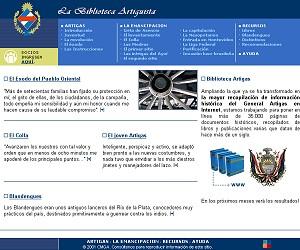 Desarrollo web para artigas.org.uy