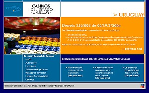 Desarrollo web para la Dirección General de Casinos del Estado