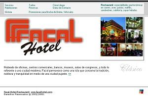 Desarrollo web para Facal Hotel-Restaurant
