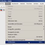 Menú Edición en Safari 5.1 para Windows